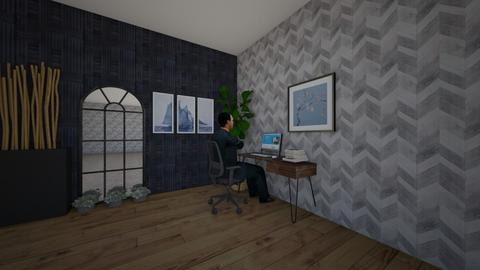 Chilling work afternoon - Masculine - Office  - by ZefiroX