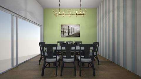 linear room - Dining room  - by cbrowne05