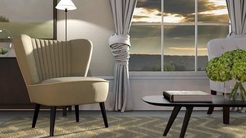 Club Chair - Living room  - by GraceKathryn