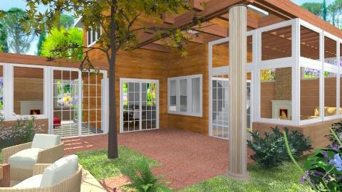 Courtyard - Modern - Garden  - by Bibiche