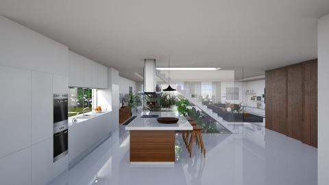 Estoril I - Modern - Kitchen  - by Claudia Correia
