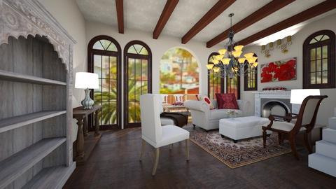 Santa Barbara Living Room - Glamour - Living room - by Rebekah Pincock