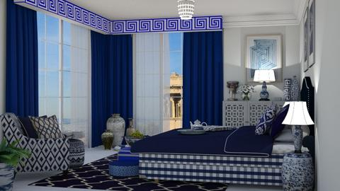 greek - Bedroom  - by nat mi