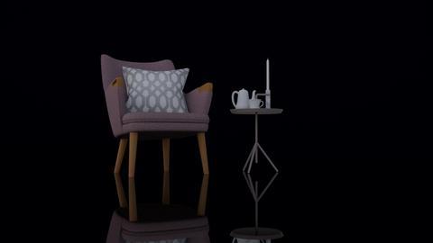 Time for TEA - Minimal - Living room  - by HenkRetro1960