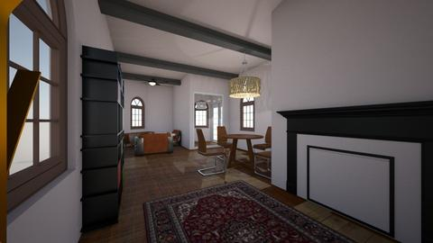 2nd try - Living room  - by Lutherowanga
