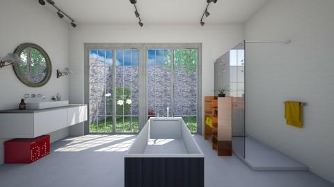 Bright Bath - Modern - Bathroom  - by 3rdfloor