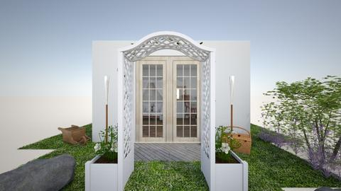 Artist Shed Entrance - Garden  - by ziva mae