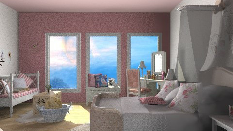 Transition 2 - Country - Bedroom  - by Open Spaces