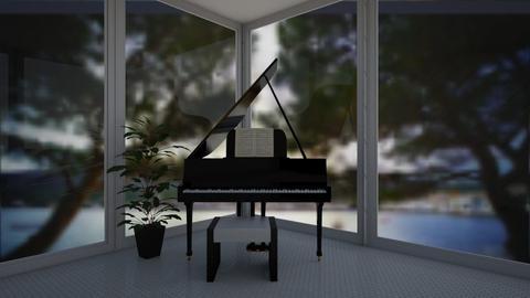 music room - Modern - by madaline