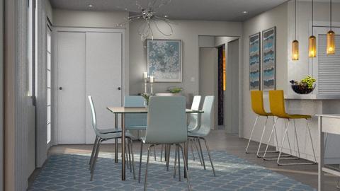Dining Room - Kitchen - by GraceKathryn