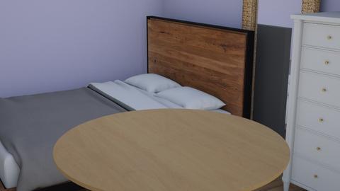 proyecto 1 - Minimal - Bedroom  - by alicia589