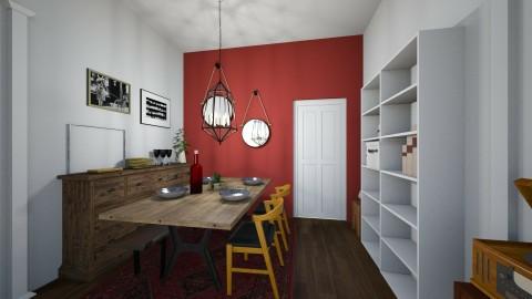 Dining Room - by Gillian Rene