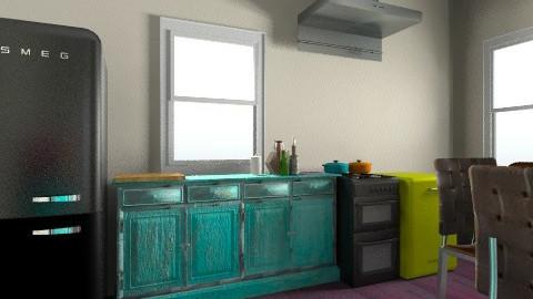 cozinha - Eclectic - Kitchen  - by julianaduim