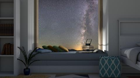 Window Seat - Minimal - Bedroom  - by millerfam