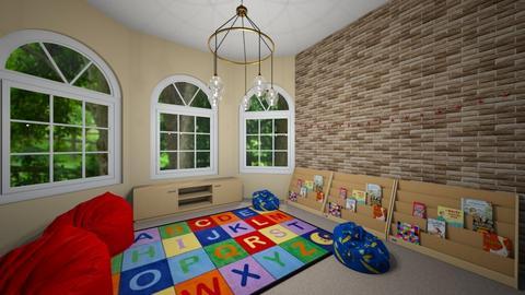Kid Reading Corner - Kids room  - by CNetzley03