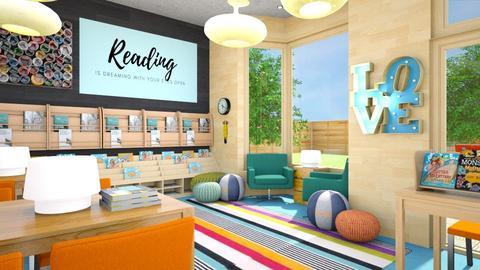 Children's Library - by amyskouson