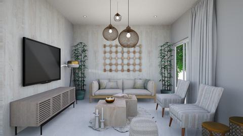 LIVING ROOM 3 - Minimal - Living room  - by STUDIODOT