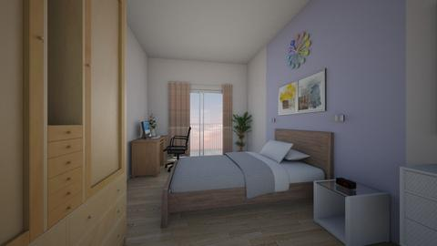 masters bedroom - Bedroom  - by iancarlg