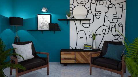 Mod 60s - Modern - Living room  - by KylaTH