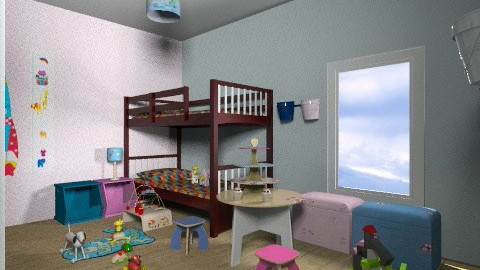kids room by Alicia 2 - Eclectic - Kids room  - by CARMEND70