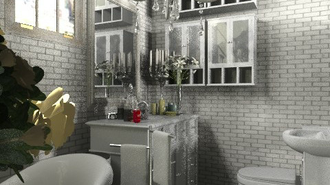 french apartment: Silver bath - Classic - Bedroom  - by Your well wisher