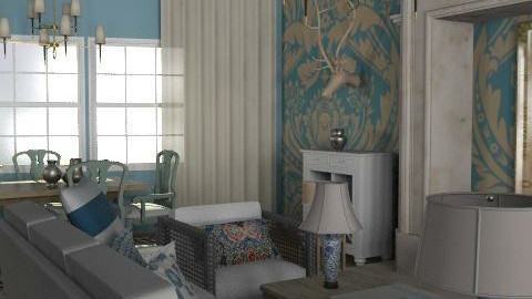 Warehouse - 4 - Eclectic - Living room  - by hunny