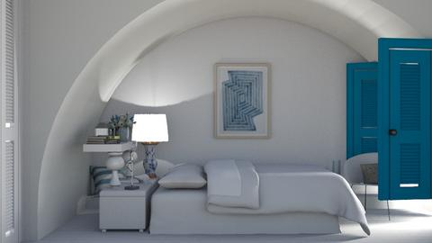 greek - Bedroom  - by nat mi
