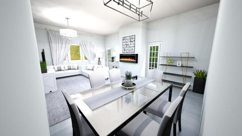 Living room part 2 - Living room  - by Gymnast home designer