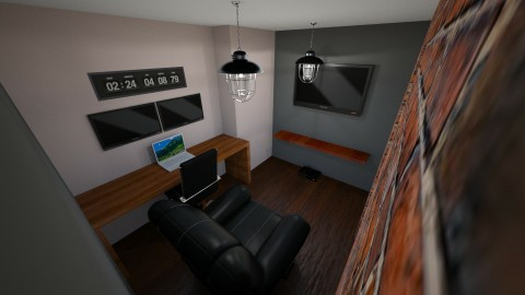 Man Cave - Rustic - Office  - by P19GEH
