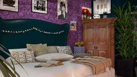 MaximalistBedroom - by Jasmine_Jasmine