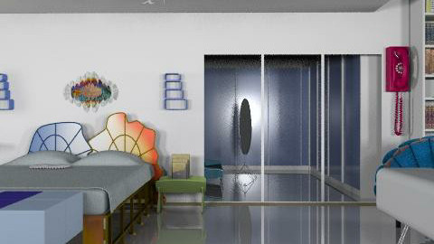 wish I could start a trend - Modern - Bedroom  - by turquoiseshell