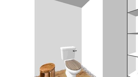 Suite Bath Corner storage - Bathroom  - by nanooks7
