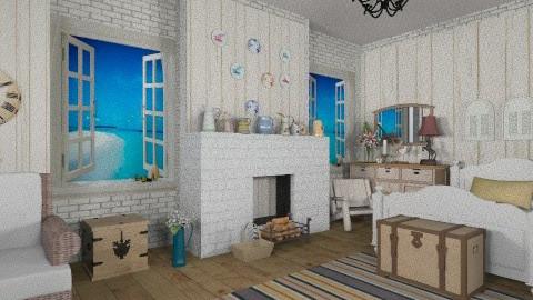 1938  x - Rustic - Bedroom  - by milyca8