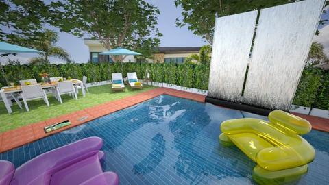 Swimming Pool - Garden - by pfeilswdm