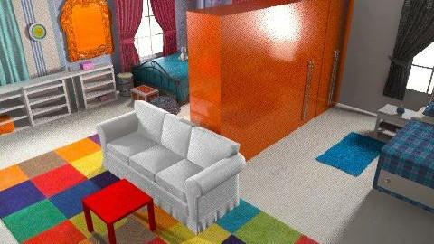 vwgyes gyerekszoba04 - Modern - Kids room  - by Audrey17