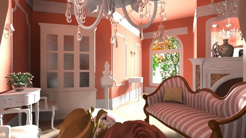 Rose Parlour - Glamour - Living room  - by Eve1yn