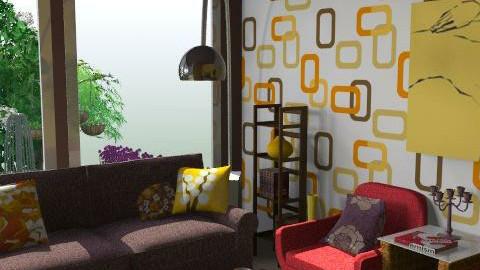 lalala - Retro - Living room  - by Andrea_