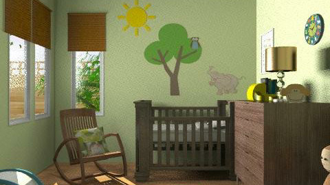 Bare necessities - Modern - Kids room  - by alleypea