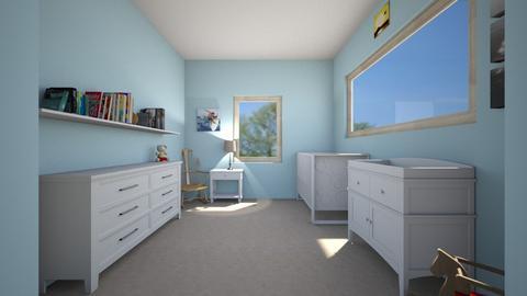 boy baby room - Kids room  - by REAL MEE