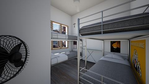 Boarding House Bedroom 2 - Bedroom  - by SammyJPili