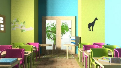 class room 1 - Modern - Kids room  - by decorj
