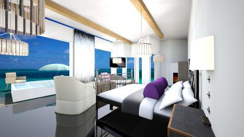 beach room - Modern - Bedroom  - by Sofia and kiki