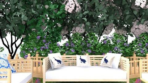garden - Glamour - Garden  - by anastefaniac