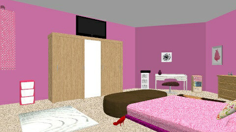 Teen girl room - Glamour - Kids room  - by hannah1122