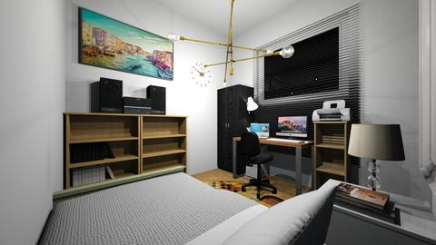 Small Room Design Bedroom - Classic - Bedroom  - by mrhshi