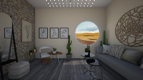 Desert - Living room  - by Meghan White
