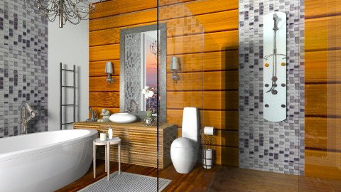 Shine Batroom - Glamour - Bathroom  - by sahfs