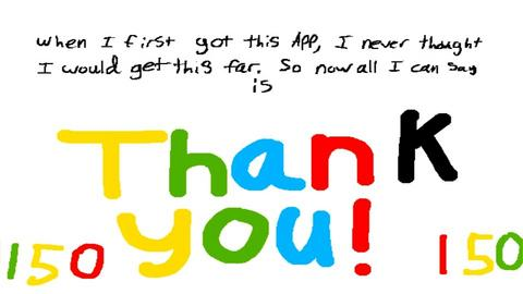 150 Followers Thank You - by Horse_Lover_Mel