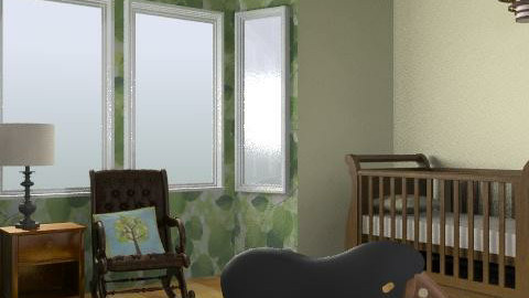 Nersery - Rustic - Kids room  - by alenah