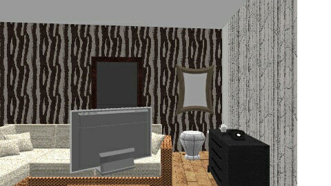 Casa de familia - Retro - Kids room  - by Nikolle Molina